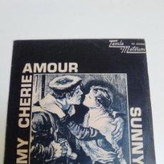 Discos de vinilo: STEVIE WONDER MY CHERIE AMOUR / SUNNY ( 1969 TAMLA MOTOWN ESPAÑA ). Lote 224400148