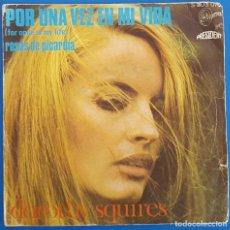 Discos de vinilo: SINGLE / DOROTHY SQUIRES / POR UNA VEZ EN MI VIDA - ROSAS DE PICARDIA / SINTONIA S-803.070 / 1969. Lote 224400213