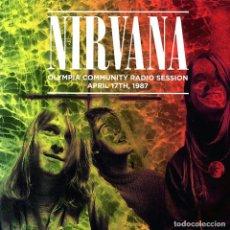 Discos de vinilo: NIRVANA LP * OLYMPIA COMMUNITY RADIO SESSION * ABRIL 1987 * LTD 500 COPIAS!!! PRECINTADO. Lote 224405030