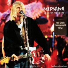 Discos de vinilo: NIRVANA LP 180G HQ VIRGIN VINYL * LIVE AT THE PIER 48 SEATTLE 1993 * PRECINTADO. Lote 224405151