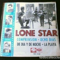 Disques de vinyle: LONE STAR (EP 1965) COMPRENSION - OCHO DIAS (BEATLES) DE DIA Y DE NOCHE - LA PLAYA. Lote 224410102
