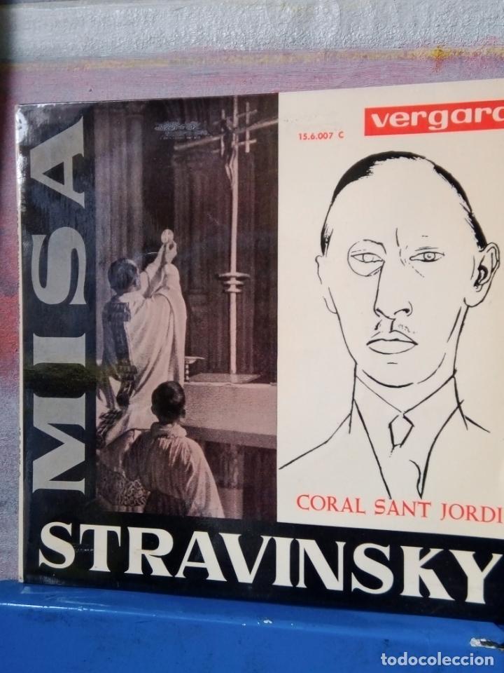 IGOR STRAVINSKY .MISA SINGLE DE VINILO (Música - Discos - Singles Vinilo - Clásica, Ópera, Zarzuela y Marchas)