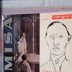 Discos de vinilo: IGOR STRAVINSKY .MISA SINGLE DE VINILO. Lote 224413965