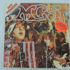 Discos de vinilo: MC5 KICK OUT THE JAMS LP 1977 ELEKTRA ED ESPAÑOLA SPAIN. Lote 224420581