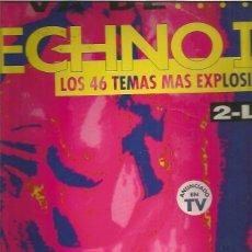 Discos de vinilo: VA DE TECHNO II. Lote 224426708
