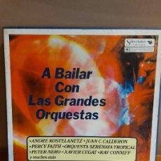 Discos de vinilo: CAJA-ÁLBUM / A BAILAR CON LAS GRANDES ORQUESTAS / READER'S DIGEST / 8 VINILOS / MBC. ***/***. Lote 224427093