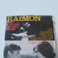 Discos de vinilo: RAIMON D'UN TEMP D'UN PAIS + 3 ( 1964 EDIPHONE EDIGSA ESPAÑA ). Lote 224429513
