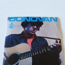 Discos de vinilo: DONOVAN TURQUESA + 3 ( 1965 HISPAVOX ESPAÑA ) CIRCUS OF SOUR OYE GITANO EL SOLDADITO DE PLOMO. Lote 224435411
