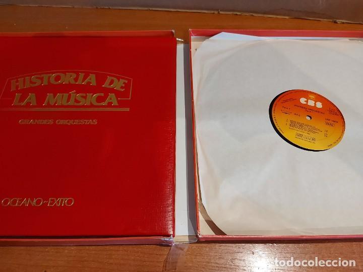 Discos de vinilo: OCASIÓN !! LA MÚSICA ELEGIDA / GRANDES ORQUESTAS / CAJA-ÁLBUM / 4 VINILOS + LIBRETO 94 PAGS / LUJO. - Foto 6 - 224438985