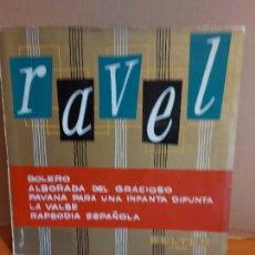 Discos de vinilo: ÁLBUM BELTER / RAVEL / BOLERO Y OTROS TEMAS / 1 VINILO - VOX RECORDS-1959 / MBC. ***/***. Lote 224451466