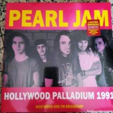 Discos de vinilo: PEARL JAM–HOLLYWOOD PALLADIUM 1991, WESTWOOD ONE FM BROADCAST . LP VINILO PRECINTADO.. Lote 224451753