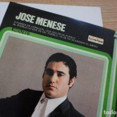 Discos de vinilo: A FUERZA DE CORAZÓN, DE JOSÉ MENESES. Lote 224456080