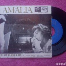 Discos de vinilo: EP AMALIA RODRIGUES - VOU DAR DE BEBER A DOR (MARIQUINHAS)+3 - 2315 (VG++/NM). Lote 224459710