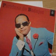 Discos de vinilo: DISCO LP DE PORRINAS DE BADAJOZ. Lote 224459982