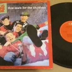Discos de vinilo: NEW KIDS ON THE BLOCK / THIS ONE'S FOR THE CHILDREN / MAXI-SINGLE 12 INCH. Lote 224468551