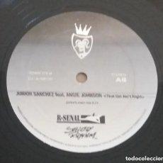 Discos de vinilo: JUNIOR SANCHEZ / THAT GIRL AIN'T RIGHT / MAXI-SINGLE 12 INCH. Lote 224469325