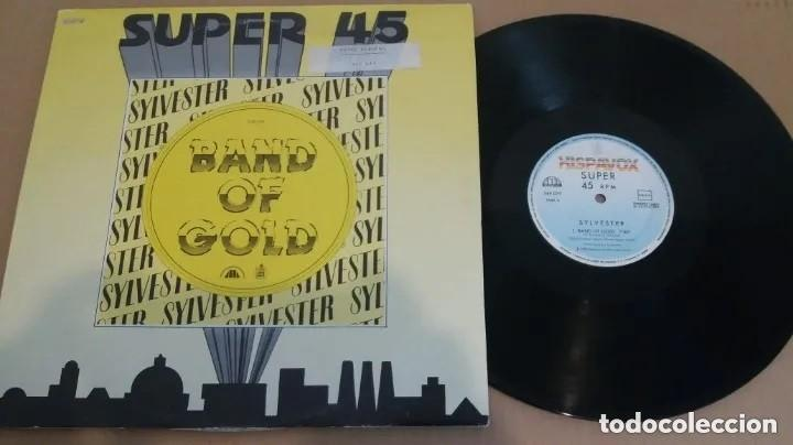 Discos de vinilo: Sylvester / Band Of Gold / MAXI-SINGLE 12 INCH - Foto 1 - 224469728