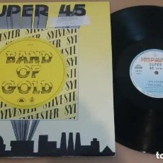 Discos de vinilo: SYLVESTER / BAND OF GOLD / MAXI-SINGLE 12 INCH. Lote 224469728