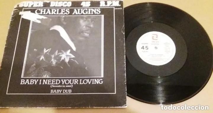 CHARLES AUGINS / BABY I NEED YOUR LOVING / MAXI-SINGLE 12 INCH (Música - Discos de Vinilo - Maxi Singles - Otros estilos)