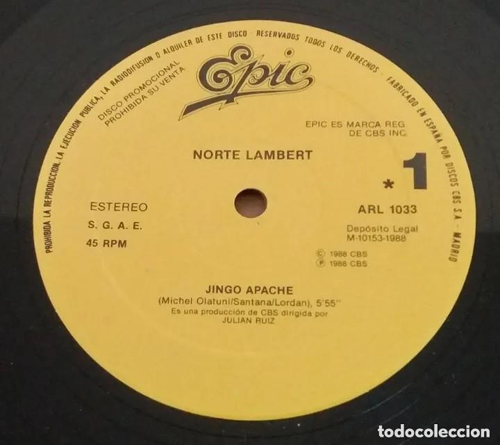 NORTE LAMBERT / JINGO APACHE / MAXI-SINGLE 12 INCH (Música - Discos de Vinilo - Maxi Singles - Otros estilos)