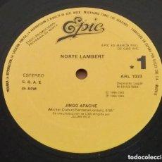 Discos de vinilo: NORTE LAMBERT / JINGO APACHE / MAXI-SINGLE 12 INCH. Lote 224476568