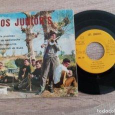 Discos de vinilo: LOS JUNIORS DE AMPOSTA EP 1968.PERLA PRECIOSA ETC... Lote 224476867