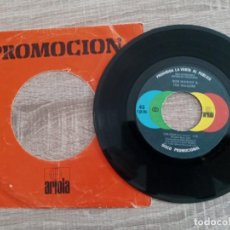Discos de vinilo: BOB MARLEY AND THE WAILERS.SINGLE PROMOCIONAL 1980.. Lote 224477772