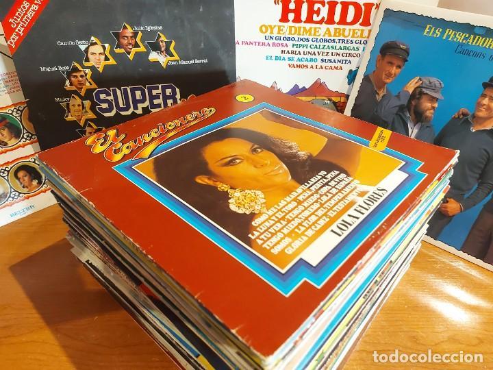 Discos de vinilo: 17 KILOS DE MÚSICA / 80 LPS POP-ROCK Y VARIADO / DE BUENA CALIDAD / SIN MARCAS PROFUNDAS. VER FOTOS. - Foto 2 - 224478755