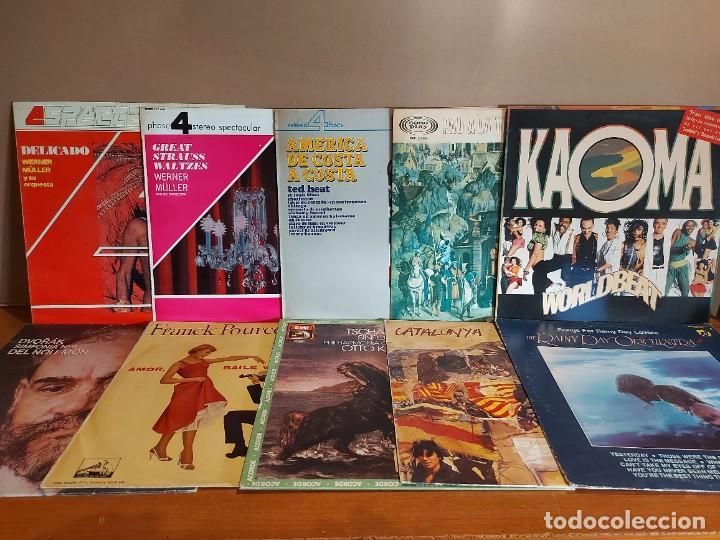 Discos de vinilo: 17 KILOS DE MÚSICA / 80 LPS POP-ROCK Y VARIADO / DE BUENA CALIDAD / SIN MARCAS PROFUNDAS. VER FOTOS. - Foto 3 - 224478755