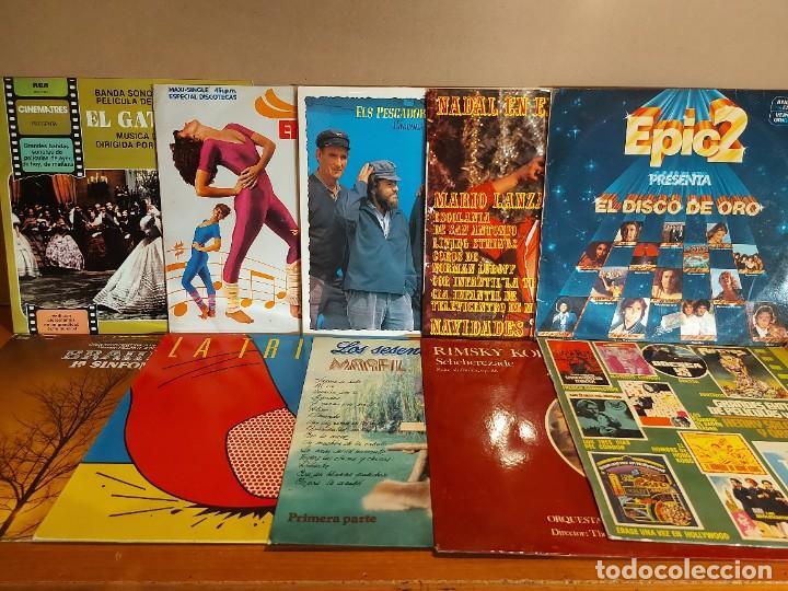 Discos de vinilo: 17 KILOS DE MÚSICA / 80 LPS POP-ROCK Y VARIADO / DE BUENA CALIDAD / SIN MARCAS PROFUNDAS. VER FOTOS. - Foto 4 - 224478755