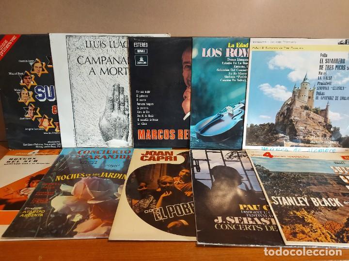 Discos de vinilo: 17 KILOS DE MÚSICA / 80 LPS POP-ROCK Y VARIADO / DE BUENA CALIDAD / SIN MARCAS PROFUNDAS. VER FOTOS. - Foto 5 - 224478755