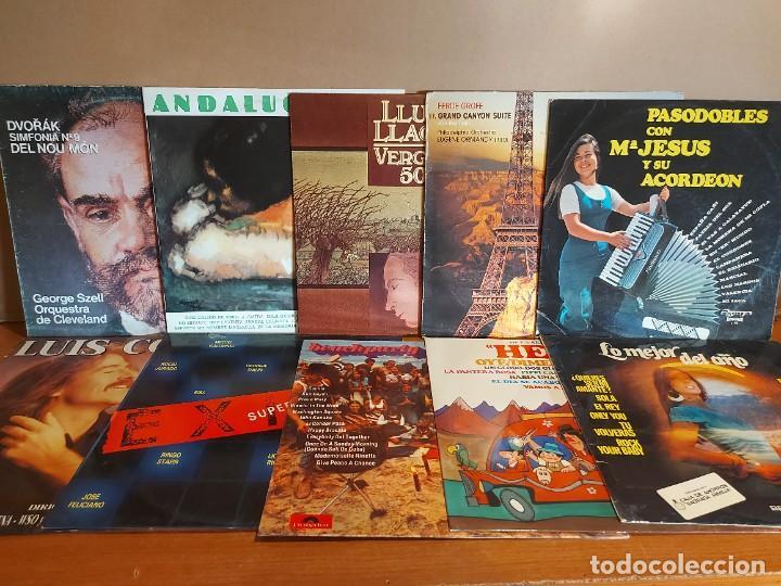 Discos de vinilo: 17 KILOS DE MÚSICA / 80 LPS POP-ROCK Y VARIADO / DE BUENA CALIDAD / SIN MARCAS PROFUNDAS. VER FOTOS. - Foto 6 - 224478755