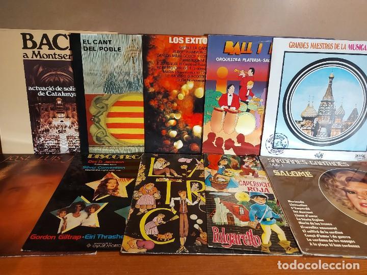 Discos de vinilo: 17 KILOS DE MÚSICA / 80 LPS POP-ROCK Y VARIADO / DE BUENA CALIDAD / SIN MARCAS PROFUNDAS. VER FOTOS. - Foto 7 - 224478755