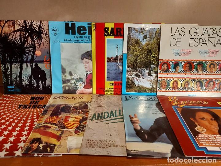 Discos de vinilo: 17 KILOS DE MÚSICA / 80 LPS POP-ROCK Y VARIADO / DE BUENA CALIDAD / SIN MARCAS PROFUNDAS. VER FOTOS. - Foto 8 - 224478755