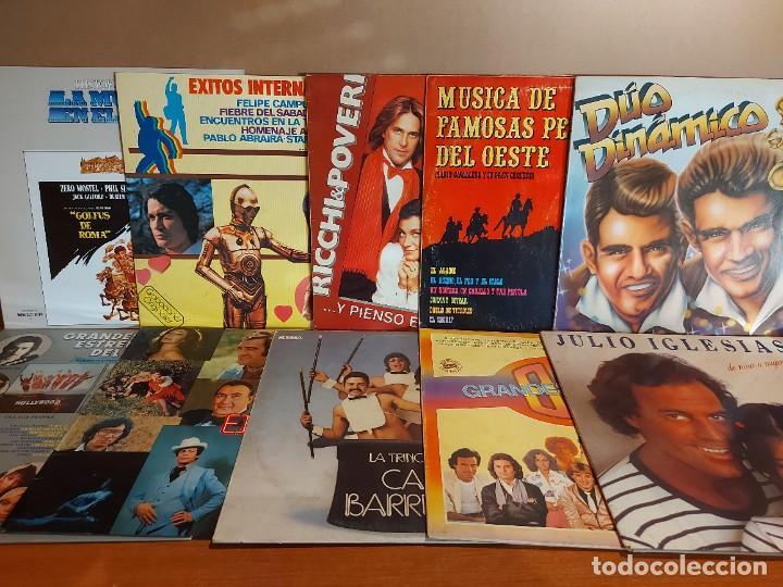 Discos de vinilo: 17 KILOS DE MÚSICA / 80 LPS POP-ROCK Y VARIADO / DE BUENA CALIDAD / SIN MARCAS PROFUNDAS. VER FOTOS. - Foto 10 - 224478755
