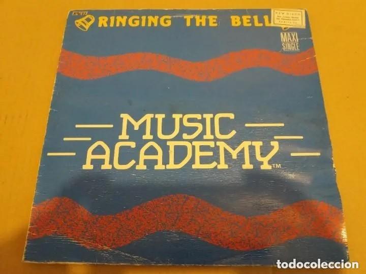 MUSIC ACADEMY / RINGING THE BELL / MAXI-SINGLE 12 INCH (Música - Discos de Vinilo - Maxi Singles - Otros estilos)