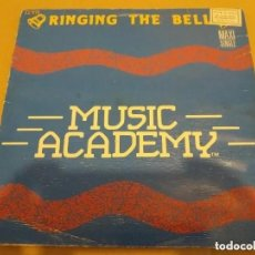 Discos de vinilo: MUSIC ACADEMY / RINGING THE BELL / MAXI-SINGLE 12 INCH. Lote 224478882