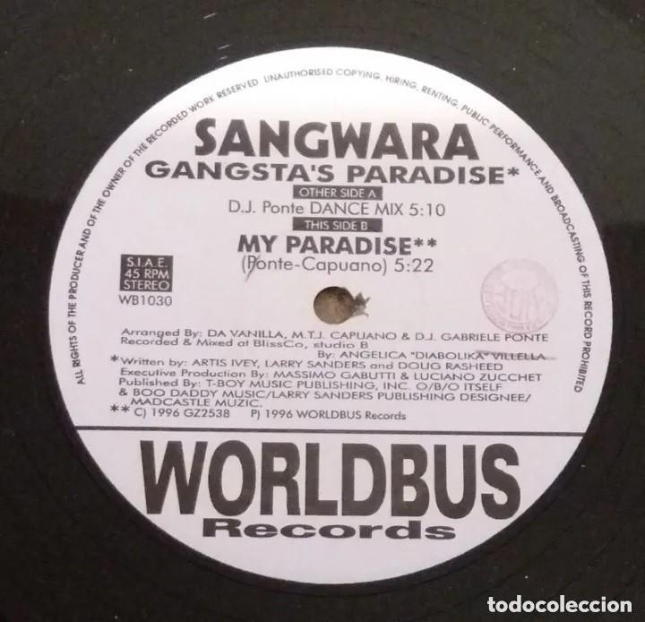 SANGWARA / GANGSTA'S PARADISE / MAXI-SINGLE 12 INCH (Música - Discos de Vinilo - Maxi Singles - Otros estilos)