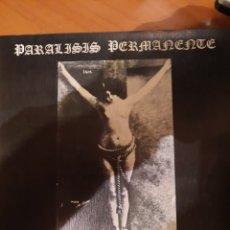 Disques de vinyle: PARALISIS PERMANENTE. QUIERO SER SANTA.. Lote 224495175