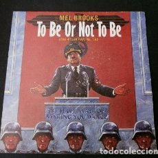 Discos de vinilo: MEL BROOKS (SINGLE 1984) TO BE OR NOT TO BE - THE HITLER RAP (PART 1 & 2). Lote 224514518