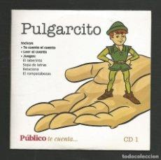 Discos de vinilo: COLECCION 20 CD QUE INCLUYEN CUENTO Y JUEGOS INTERACTIVO PARA LEER ESCUCHAR JUGAR PERIODICO PUBLICO. Lote 224516875