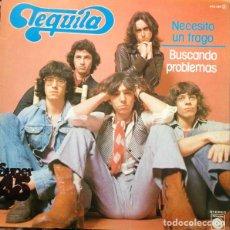 Discos de vinilo: TEQUILA - NECESITO UN TRAGO - MAXI-SINGLE SPAIN NOVOLA 1978. Lote 224523241