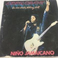 Discos de vinilo: EDDY GRANT -. EN VIVO DESDE NOTTING HILL. - NIÑO JAMAICANO. SINGLE - ICE - 1982. Lote 224528063