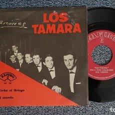 Discos de vinilo: LOS TAMARA - ZORBA EL GRIEGO / EL MUNDO. EDITADO POR ZAFIRO, AÑO 1.965. Lote 224531836