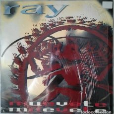 Discos de vinilo: RAY, MUEVETE, MAXI-SINGLE REMIXES SPAIN 1994. Lote 224533573