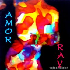 Discos de vinilo: RAY - AMOR - MAXI SINGLE SPAIN 1992. Lote 224533760