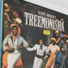 Discos de vinilo: SCOTT JOPLIN - TREEMONISHA - BOX 2 LP. Lote 224549215