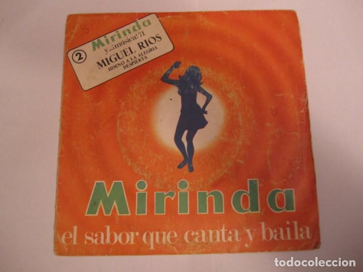 MIGUEL RÍOS HIMNO A LA ALEGRÍA - DESPIERTA DISCO MIRINDA 1971 (Música - Discos - Singles Vinilo - Solistas Españoles de los 70 a la actualidad)