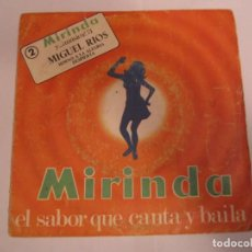 Discos de vinilo: MIGUEL RÍOS HIMNO A LA ALEGRÍA - DESPIERTA DISCO MIRINDA 1971. Lote 224550842