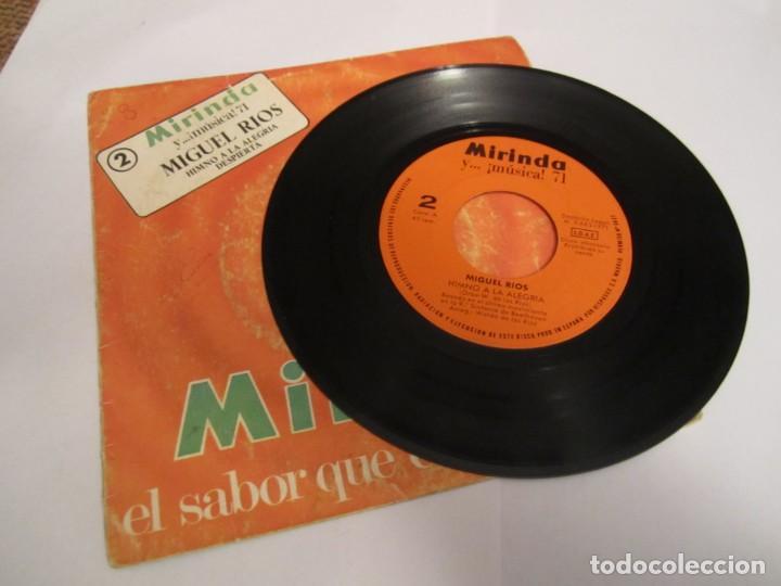 Discos de vinilo: MIGUEL RÍOS HIMNO A LA ALEGRÍA - DESPIERTA DISCO MIRINDA 1971 - Foto 3 - 224550842